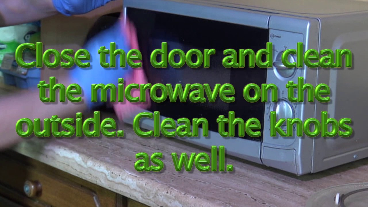 Eco Friendly Microwave Oven Cleaning
