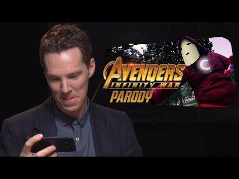 The AVENGERS REACT TO AVENGERS PARODY HAHAHA