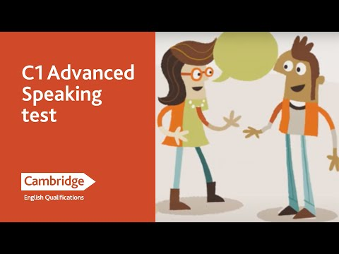 English Language Learning Tips - Speaking Test Advanced