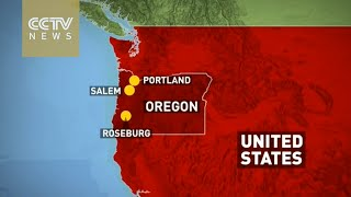 At least 10 killed in Oregon college shooting in US