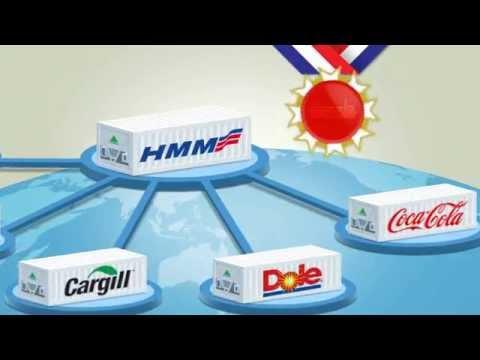 Hyundai Merchant Marine Reefer Video