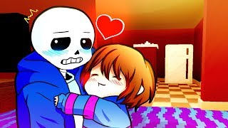 FRISK LOSES HER MIND! Funny Undertale AU Animation Roleplay