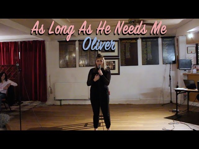 As Long As He Needs Me from Oliver (Cover) ~ Lauren Taylor!