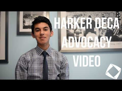 DECA Advocacy: Ankur Karwal of The Harker School