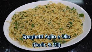 Italian Grandma Makes Spaghetti Aglio e Olio (Garlic & Oil)