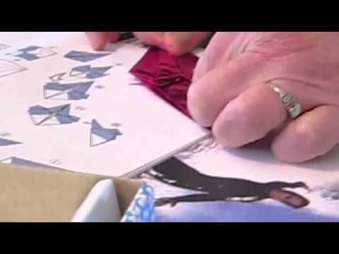 Mimi Films Phyllis Making an Oragami Crane