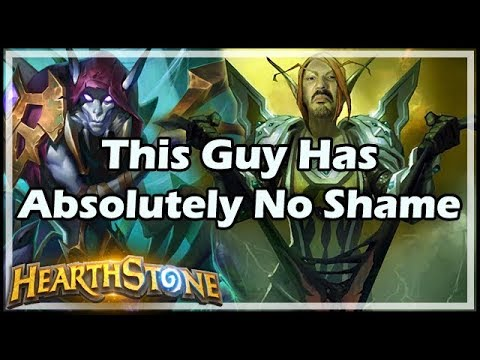 [Hearthstone] This Guy Has Absolutely No Shame