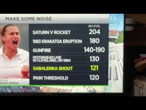 Arnya Sabalenka Yell At Tennis Matches Compared To Rock Concerts, Saturn V Rocket - Vlog