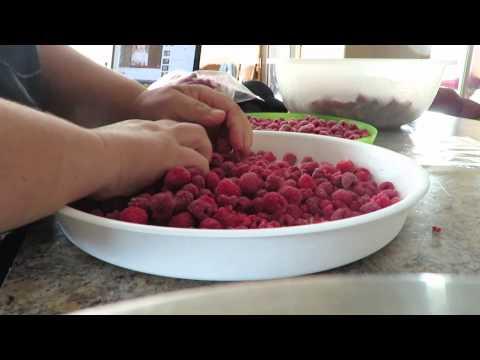 Как хранить свежую малину