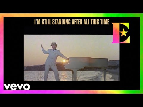Elton John shares a funny outtake from the original 'I'm Still Standing' music video