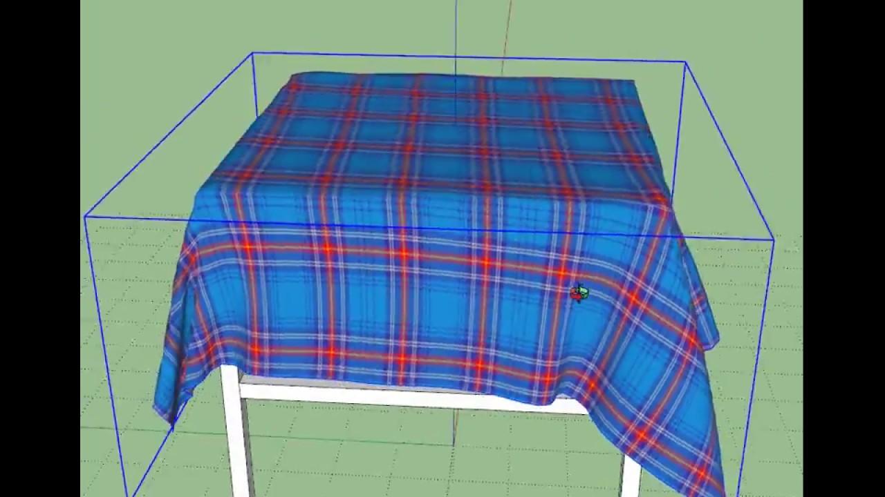 SketchUp ClothWorks Plugin Quick Tip
