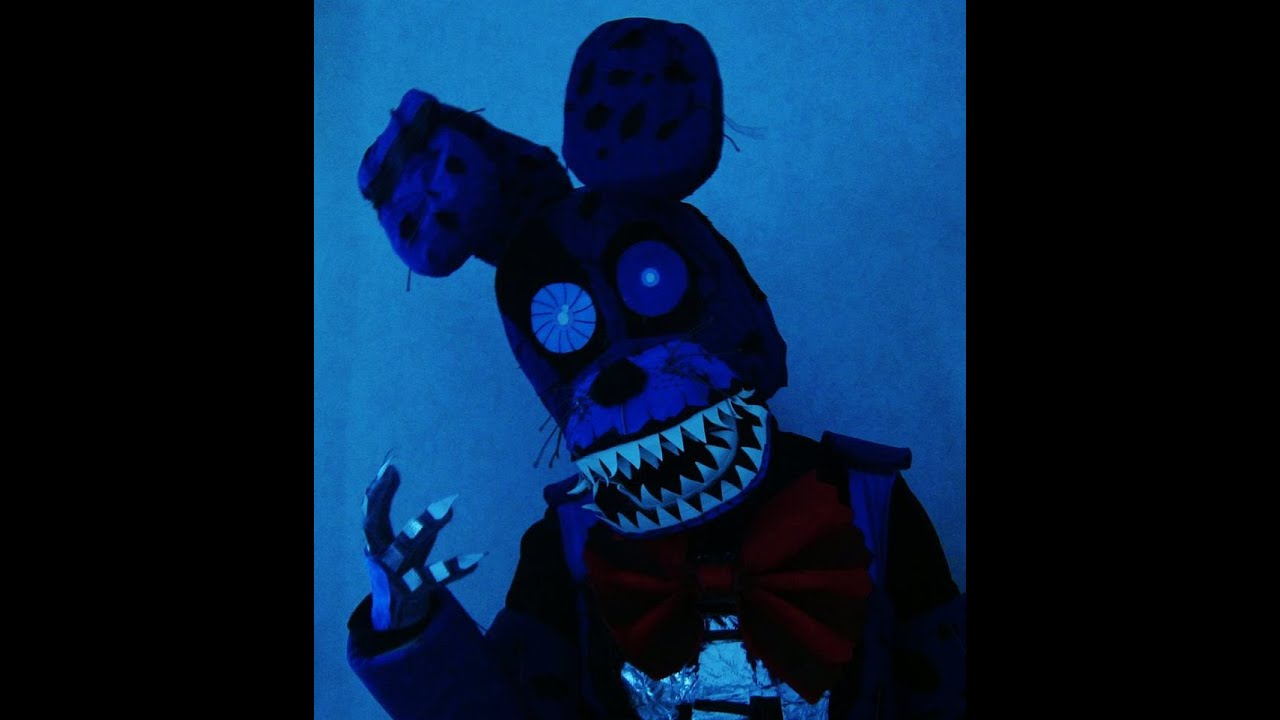 Fnaf bonnie costume for sale - Fnaf4 Nightmare Bonnie Full Costume Montage 1