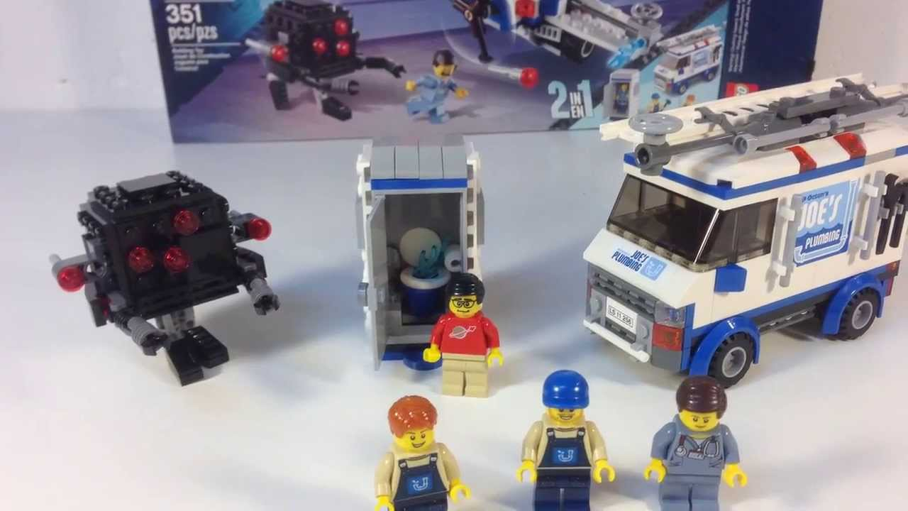 LEGO MOVIE 70811 The Flying Flusher - Plumbing Truck and ...