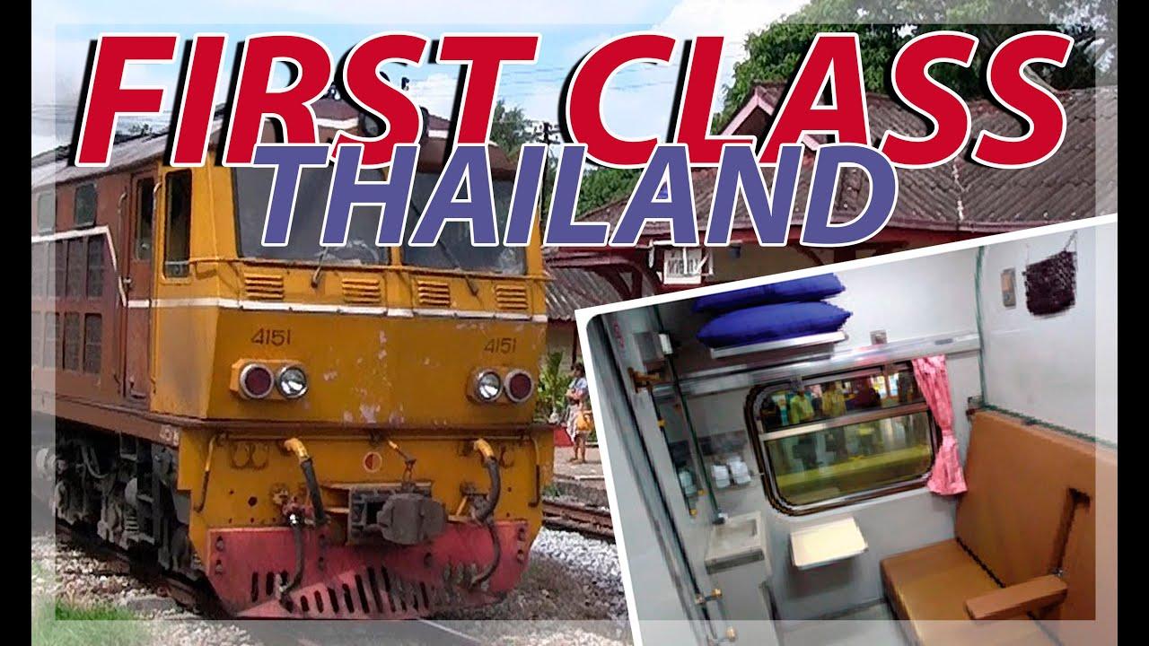 Viaje En Tren Primera Clase Thai Train First Class Hat Yai