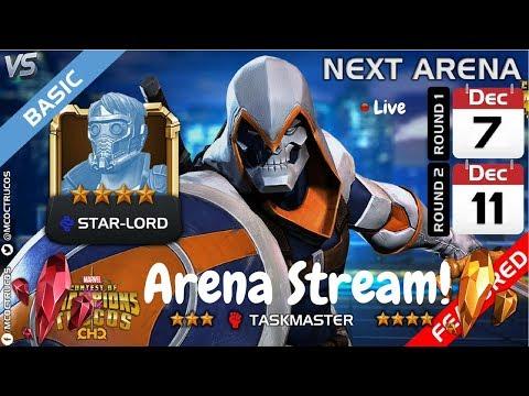 TaskMaster Arena Milestone Grind! Live! Marvel Contest Of Champions