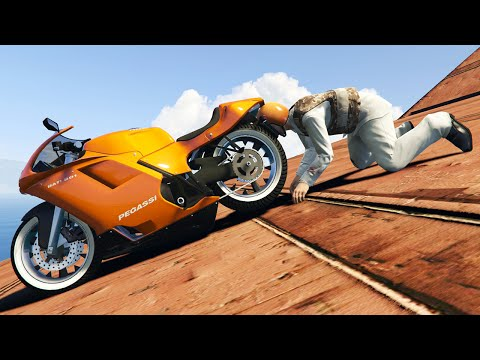 WORLD'S HARDEST IMPOSSIBLE RACE! (GTA 5 Funny Moments)