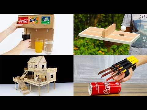 5 Amazing Things You Can Do at Home Compilation