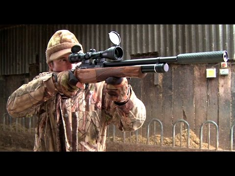 The Airgun Show – farmyard jackdaw shoot, plus top plinking targets on test