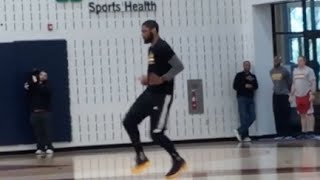 Kyrie Irving Running Man Challenge