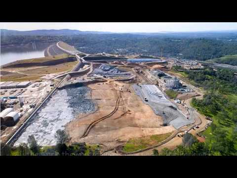 Oroville Dam Up Close Reality - April 7 2018 - important info & update