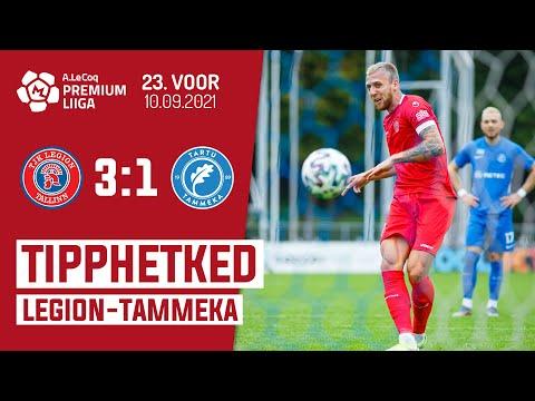Legion Tammeka Tartu Goals And Highlights