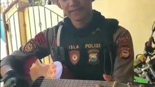 Polisi Ganteng Lagi Nyanyi 😱