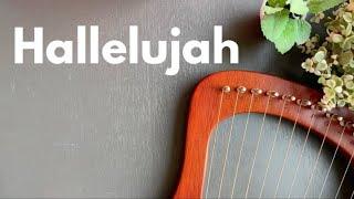 Hallelujah - Leonard Cohen   LYRE Harp Cover & Tutorial