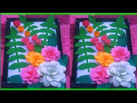 wall hanging flower frame