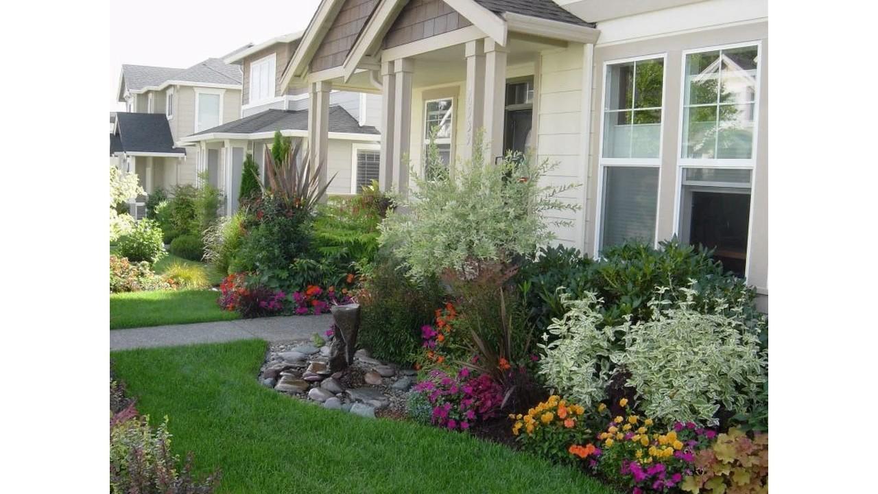 peque os jardines sencillos youtube On jardines pequenos sencillos