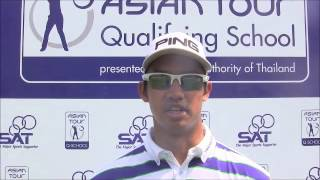 Asian Tour Qualifying School Final Stage Round 3 - Arie Fauzi of Malaysia
