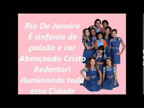 Chiquititas - Rio De Janeiro | Letra ( Oficial 2014 )