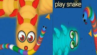 snake game online play snake WormsZone.io gameplay Biggest Snake video game
