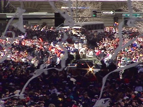 Throwback: Relive 1998 Denver Broncos Super Bowl victory parade