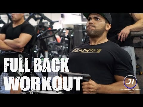 Back Workout at Gym and Fitness Aalborg, Denmark | Jonathan Irizarry