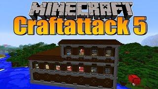 Ein kleines Minecraft Mansion zerlegt! - Minecraft Craftattack 5 #17