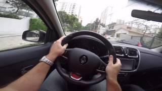Renault Sandero RS 2.0 16v Test Drive Onboard POV