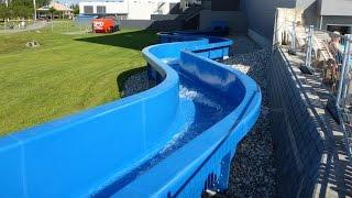 Längste Wildwasser-Rutsche Nord-Europas | Longest Wild River Slide in Denmark | Lalandia Billund