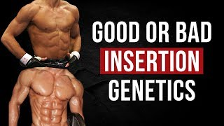 How Good are your MUSCLE INSERTIONS | Vitruvian Model of Genetics
