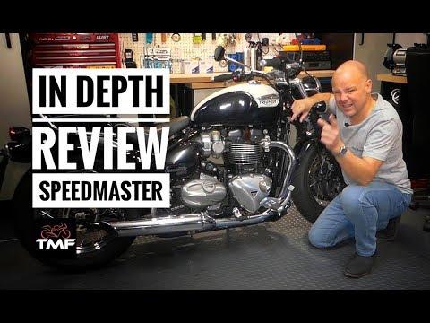 2018 Triumph Speedmaster In Depth Review