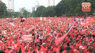 Red Shirt rally at Padang Merbok