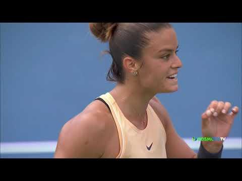 Ashleigh Barty - Maria Sakkari (2-1) | Cincinnati Masters - Highlights | COSMOTE SPORT