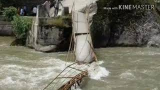Neelam Valley Bridge Incident (8 students died 24 Missing)  14 may 2018