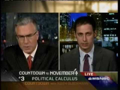 Countdown: Nate Silver Interview August 8, 2008