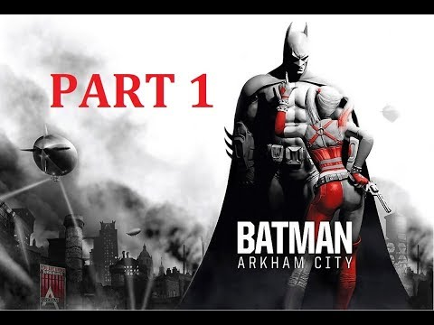 Batman Return to Arkham City Walkthrough - Part 1 - Intro & The Main Chimney