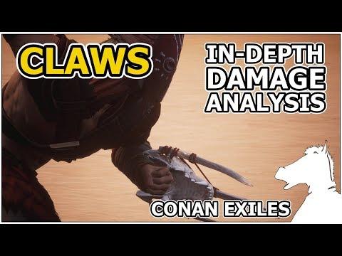 Claws In-Depth Damage Analysis | CONAN EXILES