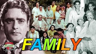 Prithviraj Kapoor Family With Parents, Wife, Son, Daughter, Brother, Grandchildren, & Biography