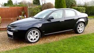 Video Review of 2009 Alfa Romeo 159 1.9 JTDM Lusso For Sale SDSC Specialist Cars Cambridge