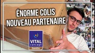 ÉNORME COLIS - NOUVEAU PARTENAIRE