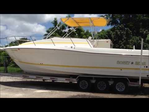 1998 Hydra-Sports 31' - By Boat Export USA, 50,000 + Boats, Yachs, PWC's, WE EXPORT