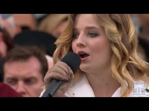 Singing of National Anthem   Donald Trump inauguration